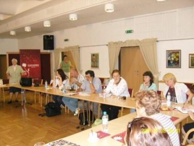 , Balatonalmádi KDR munkaszervezetek értekezlete